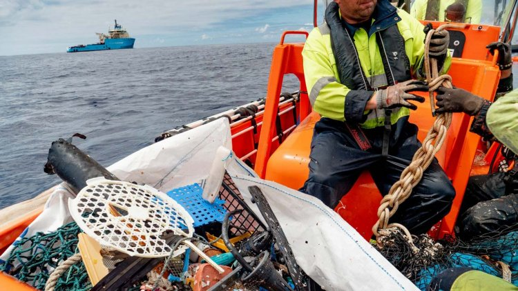 The Ocean Cleanup introduces first product made with ocean plastic pollution