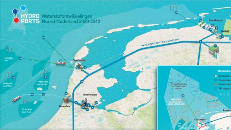 Port of Amsterdam supports blue hydrogen plant initiative in port of Den Helder