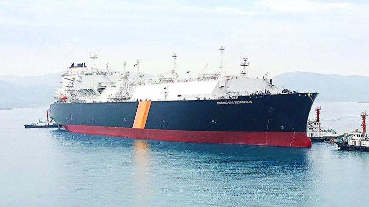 New LNG carrier delivered and assigned to Cameron LNG project
