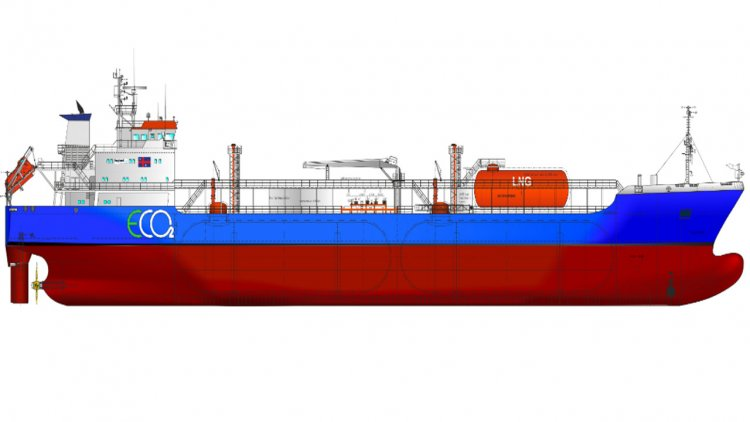 Høglund and HB Hunte develop breakthrough CO2 Vessel, Tank and Cargo Handling concept