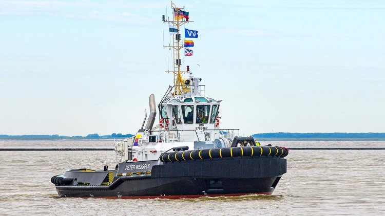 """MTU engines from Rolls-Royce to supply new """"Peter Wessels"""" tug in Emden port"""
