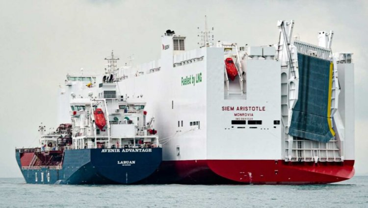 First ship-to-ship LNG bunkering in Malaysia