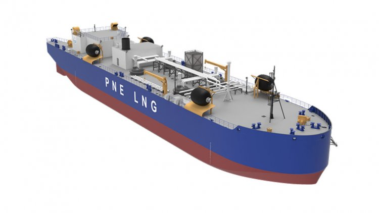 MacGregor secures contract to supply LNG bunker barge hose handling cranes