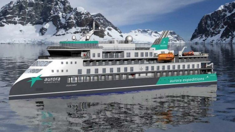Aurora Expeditions reveals cutting-edge design of its second expedition ship