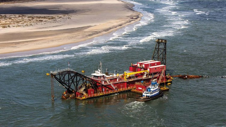 NextDecade selects Great Lakes Dredge to complete ship channel improvements