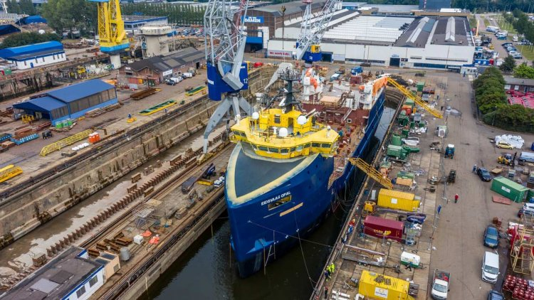 Damen completes a conversion project for Eidsvaag