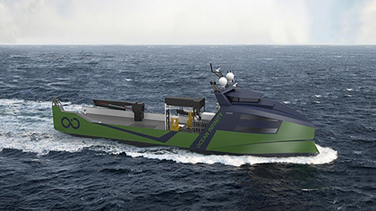 VARD secures contract for the design of eight Marine Robotic Vessels for Ocean Infinity