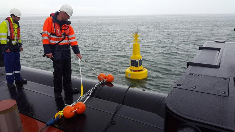 OSIL produces two data buoys for the collaborative research project