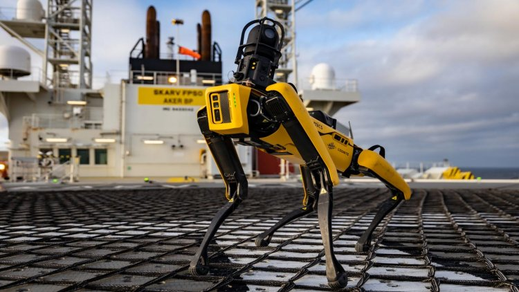 Aker BP and Cognite partner on robotic dog deployment in North Sea