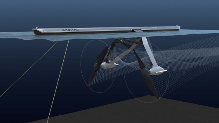Orbital and Designworks unveil futuristic tidal and river turbines