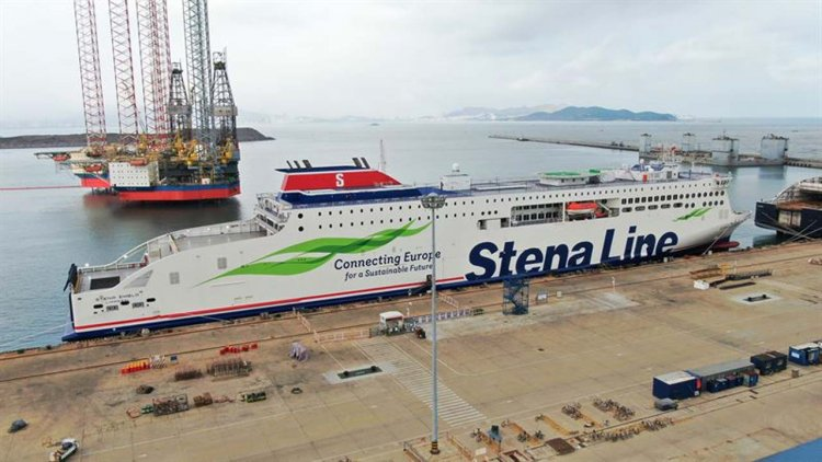 Stena Line takes delivery of third new ferry to join Irish Sea fleet in 2020