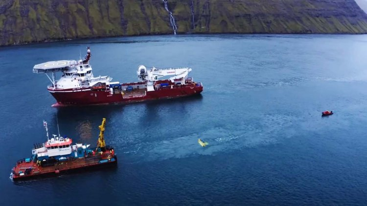 VIDEO: Minesto delivers first tidal energy to the Faroese grid