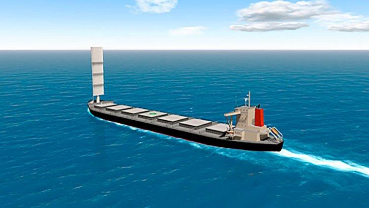 Japan's MOl, Tohoku ink deal for wind-powered coal ship