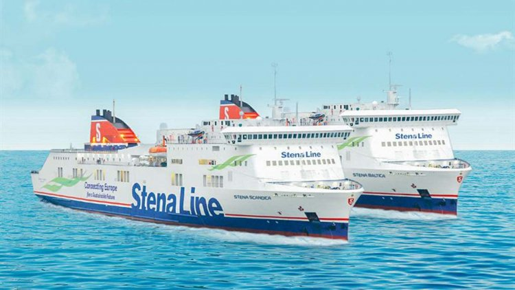 Stena Line reveals the names of the new Baltic Sea vessels