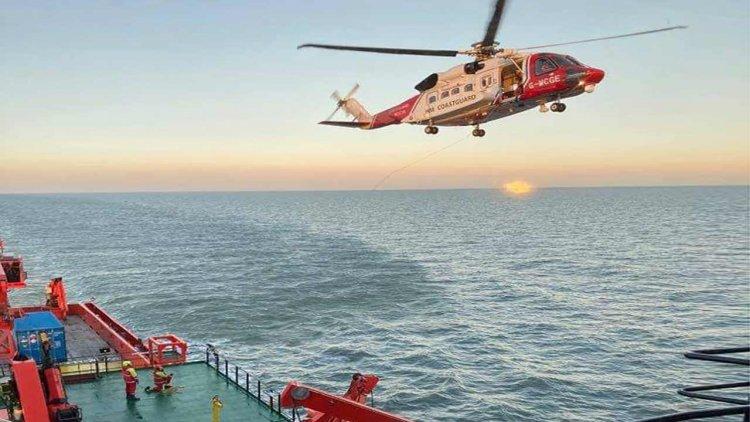 'Esvagt Njord' rescues seven injured fishermen