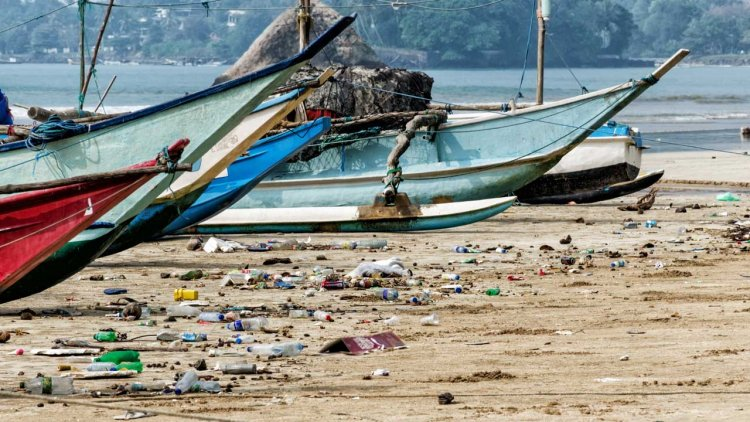 Hazardous pollution: microplastics discovered in the air above the ocean