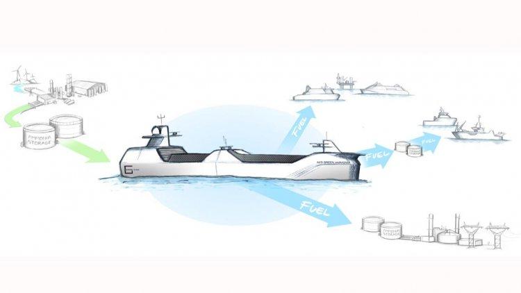 Grieg and Wärtsilä to build groundbreaking green ammonia tanker