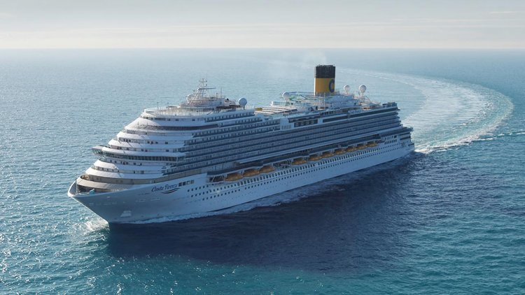 Costa Cruises took delivery of the new Costa Firenze ship from Fincantieri