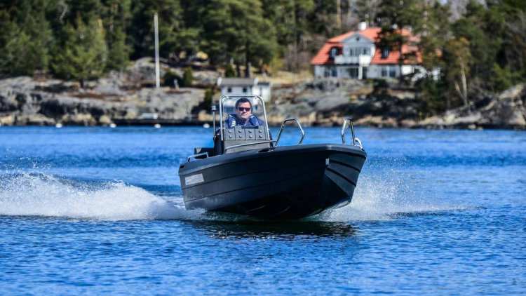 Europe's first 3D-printed boat launched