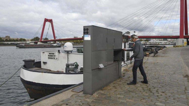 Park-Line Aqua supplies shore-based power system inland ports