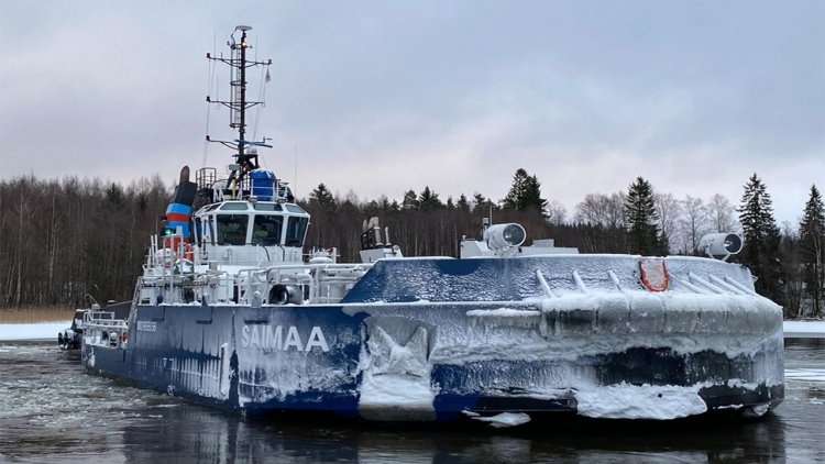Finland demonstrates ice technology expertise with innovative icebreaker vessel