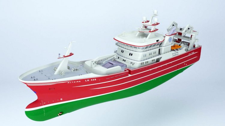 Karstensen Shipyard builds new trawler for Altaire Fishing