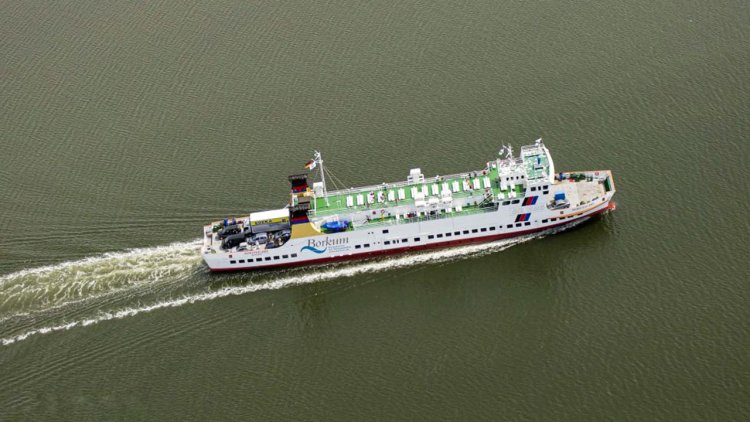 Ferry Münsterland will be converted and provided it with an LNG propulsio