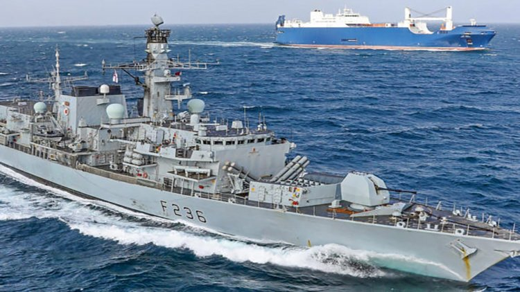 UK-Omani ship repair Joint Venture completes HMS Montrose support period in Oman