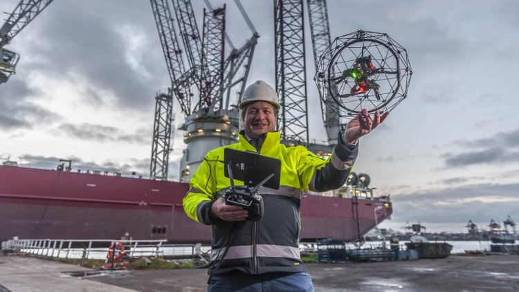 RIMS BV creates GDI to focus on the drone and ROV element of the business