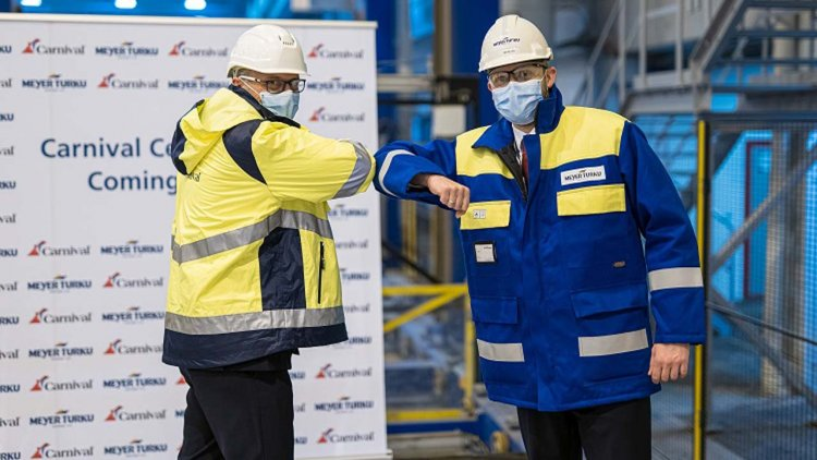 Construction begins on Carnival Cruise Line's 2nd Excel-class ship