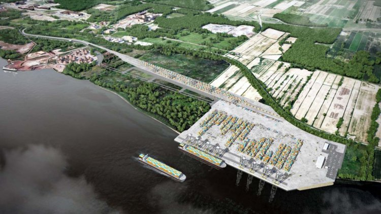 The Quebec Government grants $55 million to the Contrecoeur container terminal project