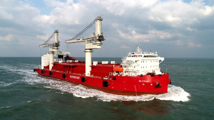 ABB Azipod electric propulsion makes bulk carrier debut in Oldendorff ship delivery
