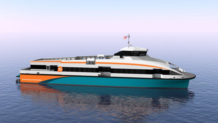 BMT's latest passenger catamaran ferry is delivered to Kitsap Transit