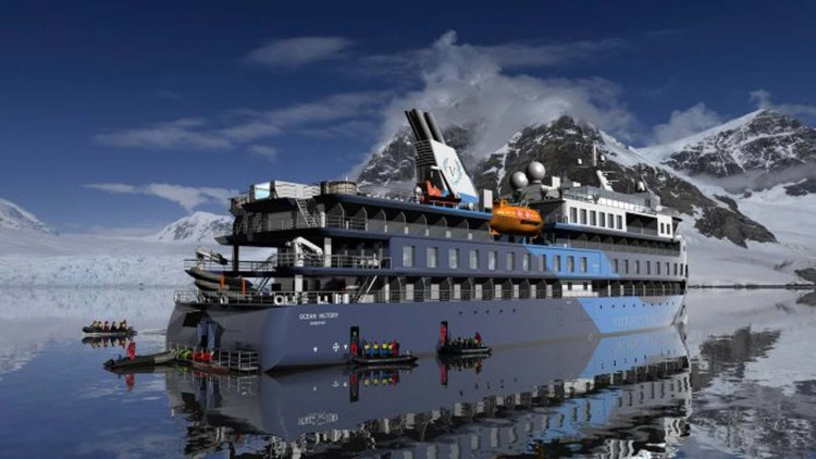 ULSTEIN: Cruise vessel 'Ocean Victory' ready for sea trial
