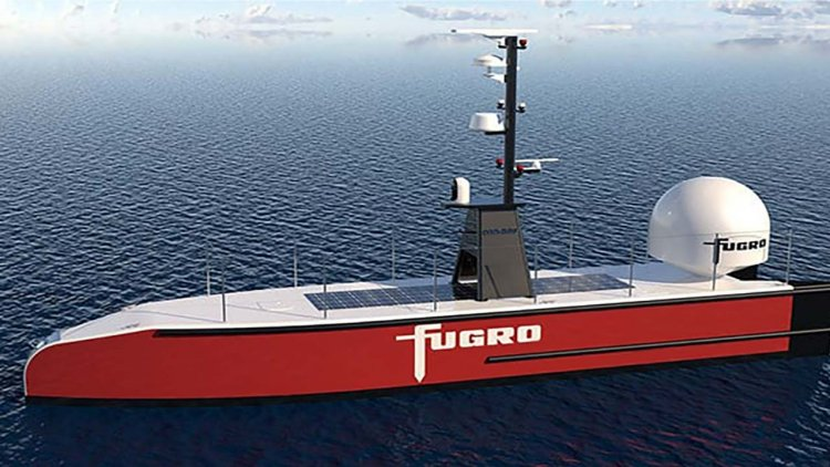 Fugro selects Sonardyne for its uncrewed vessel operations
