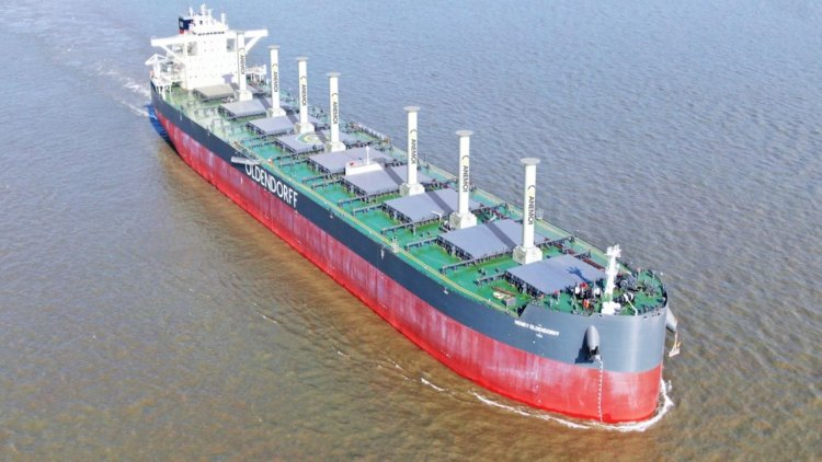 Oldendorff Carriers in joint project to develop wind-assist propulsion solution for bulkers