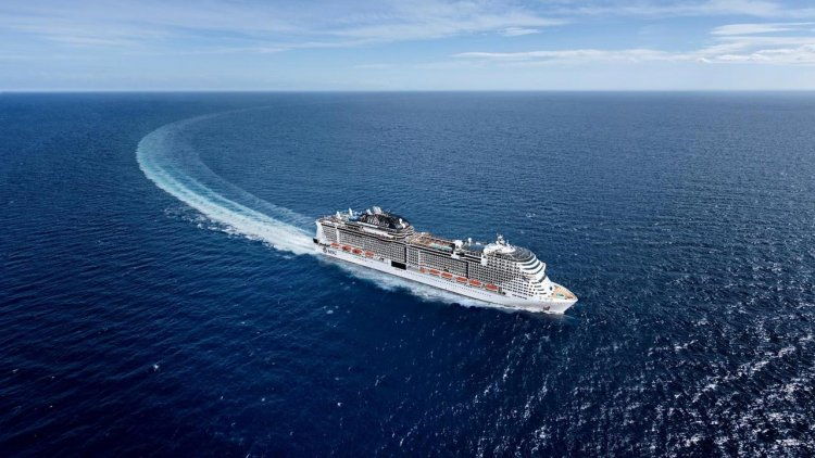 MSC Cruises' upcoming ships to further company's environmental commitment