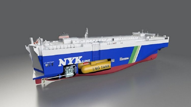 NYK to build four new LNG-fueled PCTCs