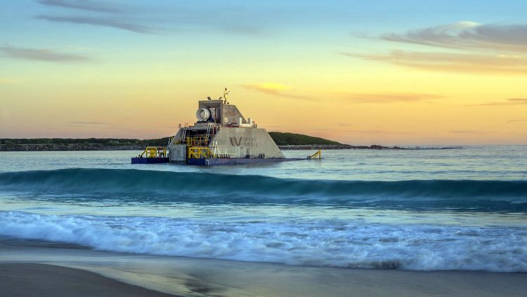 VIDEO: New Uni Wave200 power device arrived on King Island