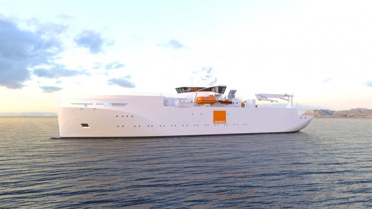 Orange Marine selects VARD's ship design to expand their fleet of cable ships