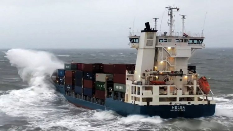 Impressive video: Pilotage in bad weather Cork Harbour on February 2021