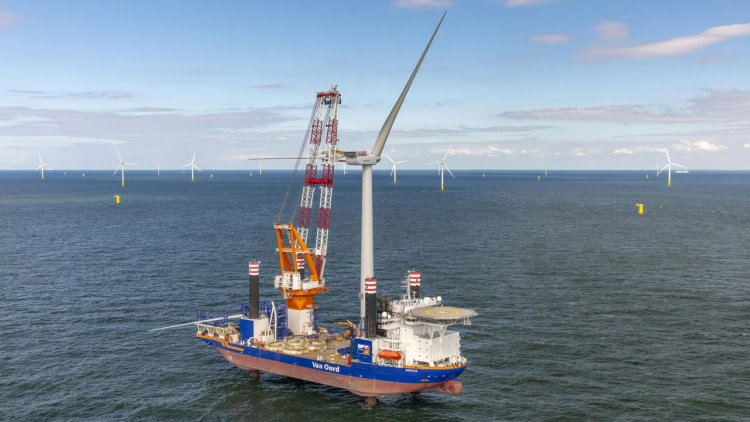 One of the largest offshore Dutch wind farms reaches full commissioning