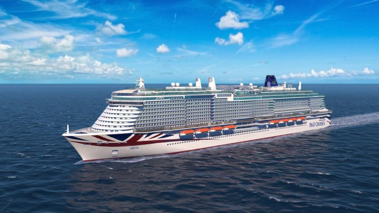 P&O Cruises names second LNG-powered Excel class ship
