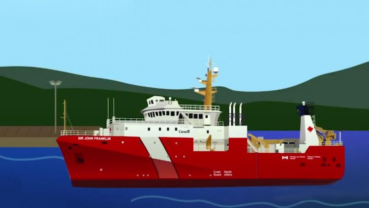 Next step toward construction of oceanographic science vessel for Canadian Coast Guard