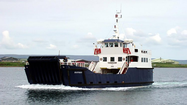Orkney leading the way with hydrogen seafarer training