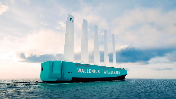 Orcelle Wind: Wallenius Wilhelmsen's first full-scale wind-powered RoRo ship