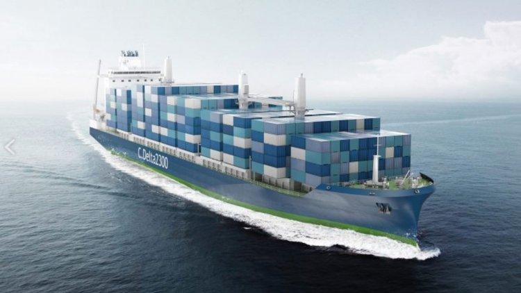 Deltamarin introduces the new LNG-powered Kielmax Container Feeder design