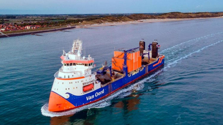 Van Oord adopts innovative technology to further reduce emissions on its fleet