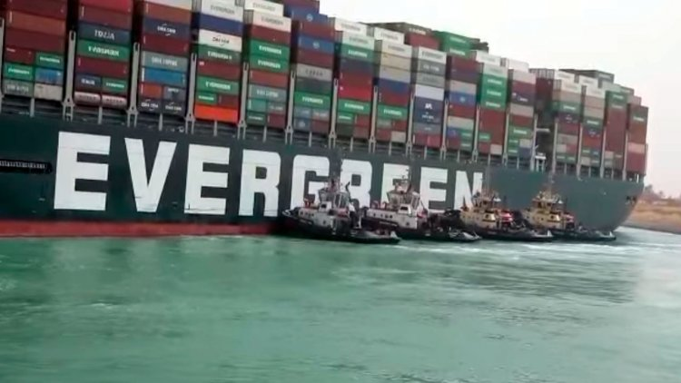 VIDEO: Ever Given ship successfully refloated in Suez Canal