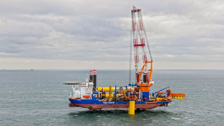 Van Oord wins contract for Sofia Offshore Wind Farm